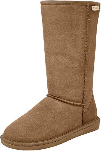 BEARPAW Women's Emma Tall Fashion Boot Hickory 7.5