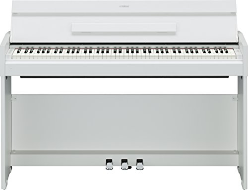 Yamaha Arius YDP-S52Digital-Piano, Schwarz Digitalpiano Volle Größe natur