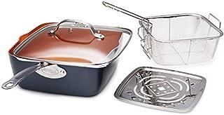 """Gotham Steel 1194 Cookware, 9.5"""", Graphite"""