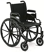 Invacare 9000 XT High Performance Lighter Weight Wheelchair, With Desk Length Arms, 18