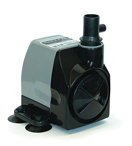 Hailea HX-4500 Regelbare Pumpe 2000 l/h, maximal Förderhöhe 2,8 m mit Luftleitung, schwarz, 12x12x16 cm, 10-450-415