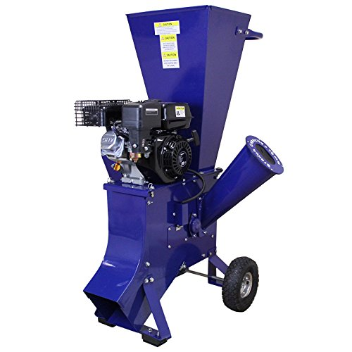T-Mech 6.5HP Wood Chipper Petrol Garden Tree Commercial Timber Brush Branch Shredder