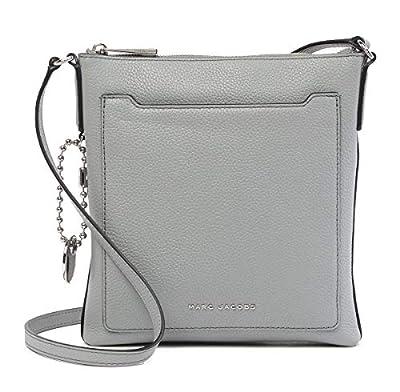 Marc Jacobs Leather Crossbody Bag (Storm Grey)
