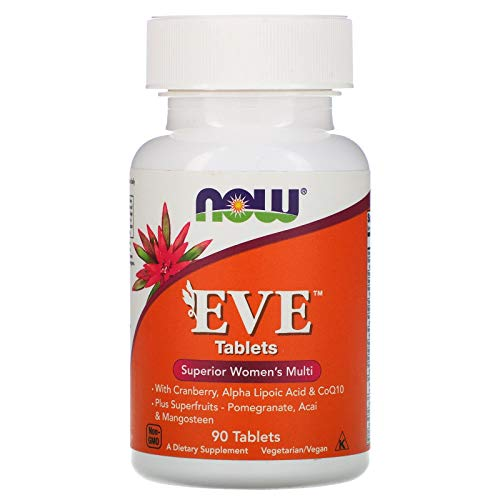 NOW EVE Superior Women's Multi 3/Day 90 Softgels, 40 g