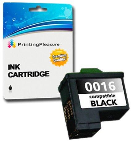 Printing Pleasure Druckerpatrone kompatibel zu Lexmark No. 16 Schwarz für Lexmark I3 X1100 X1110 X1130 X1140 X1150 X1160 X1170 X1180 X1185 X1190 X1195 X1200 X1250 X1270 X1290 X2230 X2250