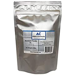 30 micron particle size (500 mesh) Spherical particle shape >99.5% aluminum Ships UPS ORM-D Ground No Hawaii/Alaska Orders