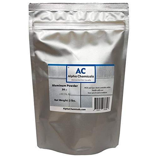 2 Pounds - Aluminum - 30 micron