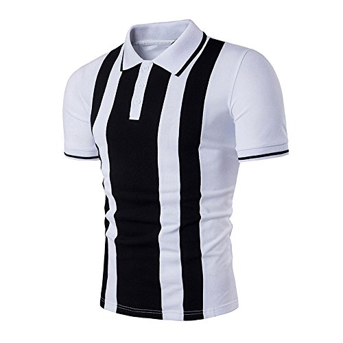 Buy EOWEO celebration New Hot Men's Slim Sports Short Sleeve Casual Shirt T-shirts Tee Tops(Medium,W...