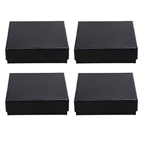 UKCOCO Mode Uhrenbox 4pcs Taschenuhr Fall Pappe Taschenuhr Organizer Aufbewahrungsbox- Größe L