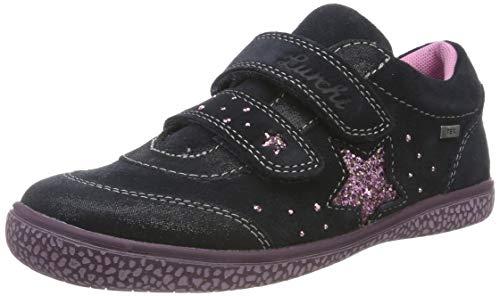 Lurchi Mädchen TANY-TEX Sneaker, Blau (Atlantic 22), 27 EU