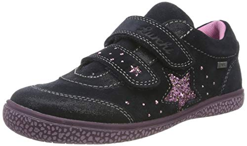 Lurchi Mädchen TANY-TEX Sneaker, Blau (Atlantic 22), 31 EU