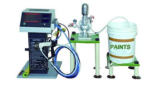 Sistema de pulverización de pintura líquida electrostática GOWE