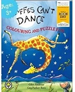 Giraffes Can't Dance Colouring and Puzzle Fun (World Book Day 2012) EXPORT