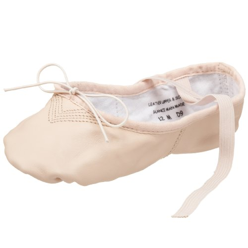 Capezio Toddler/Little Kid Leather Cobra 2033C Ballet Shoe,Light Pink,10 M US Toddler