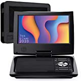 SUNPIN 11' Portable DVD Player for Car and Kids with 9.5 inch HD Swivel Screen, 5 Hour Rechargeable Battery, Dual...