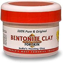 Amaze Secret Organic, Indian Healing Clay (Calcium Bentonite) Face Pack for Skin and Hair, Men and Women, 250 g