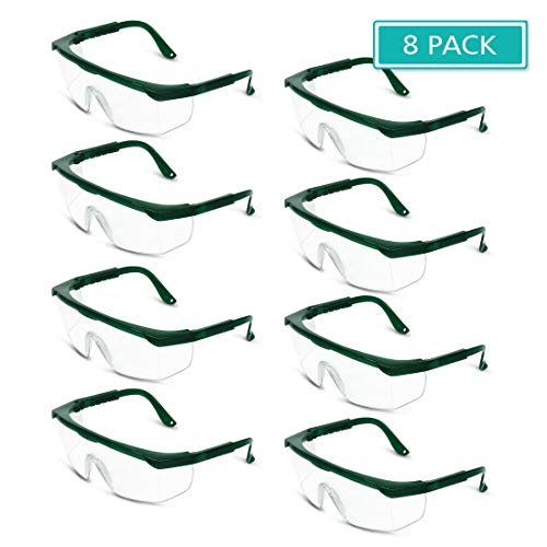 Gafas de seguridad para los ojos, antisalpicaduras, prevención de infecciones por tos estornudos, prevención de gotas, protección laboral, 8
