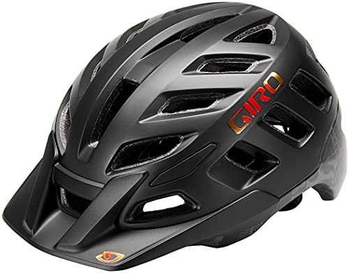 Giro Unisex– Erwachsene Radix Fahrradhelm Dirt, Matte Black Hypnotic, XL | 61-65cm