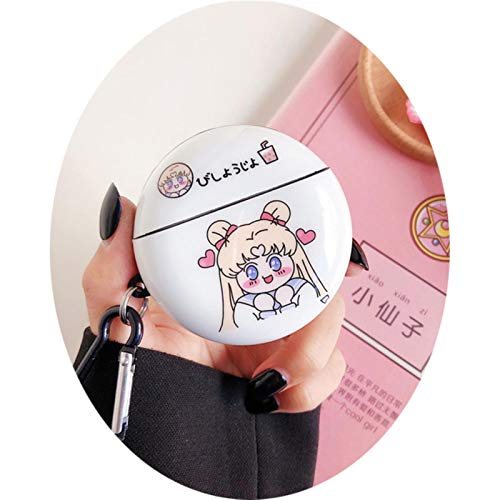 LIUJJ Sailor Moon Soft Case For Huawei Freebuds 3 Headset Protection Cover...