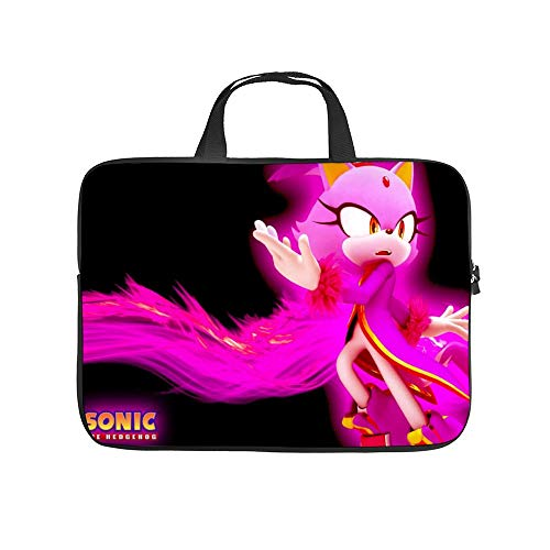 Universal Laptop Computer Tablet,Bag,Cover for,Apple/MacBook/HP/Acer/Asus/Dell/Lenovo/Samsung,Laptop Sleeve,Burning Blaze (forsonic The Hedgehog),12inch/32x24x1.5cm