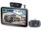 Rückfahrkamera drahtlos für LKWs HD 1080P AMTIFO 7'' Monitor für Wohnmobile, Unterstützung für...