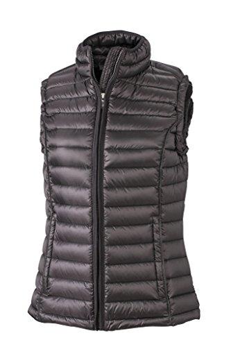 Damen Daunen Bodywarmer | Daunen Weste | JN1079, Größe:M;Farbe:black/black