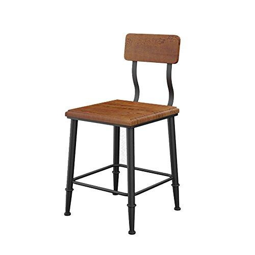 XAGB Restaurante informal estadounidense silla de comedor de madera maciza restaurante de comida rápida fábrica de té de productos lácteos industrial silla