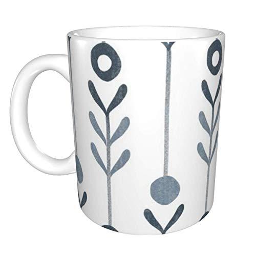 Taza de cerámica de fondo blanco de granja moderna, taza de café, taza de té, taza de cerveza para oficina y capacidad para el hogar