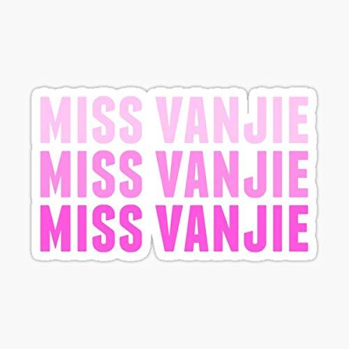 Miss vanjie Sticker - Sticker Graphic - Auto, Wall, Laptop, Cell, Truck Sticker for Windows, Cars, Trucks