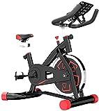 Heimtrainer Fahrrad Magnetisch Gesteuert Ultra Leise Heimtrainer Indoor-Sportfahrrad Fitnessgeräte Für Arm Und Bein mwsoz (Farbe : Red)