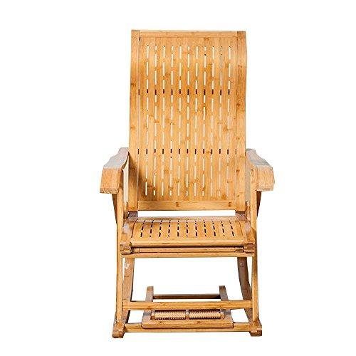 LHA antieke vrije tijd S-vormige Board stoel bamboe schommelstoel senioren lunch pauze stoel massief hout schommelstoel Lazy stoel gemakkelijk stoel