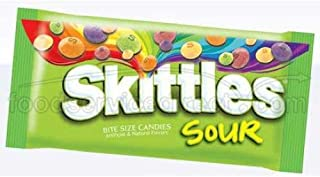 SKITTLES SOUR 51G - AMERICAN CANDY - 12 PACKS