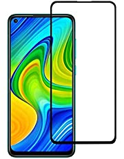 Nishtech® Edge to Edge 11D Tempered Glass Screen Protector for Redmi Note 9 (2020)