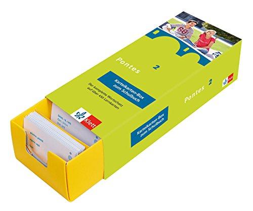 Pontes 2 - Vokabel-Lernbox zum Schulbuch: Latein passend zum Lehrwerk üben