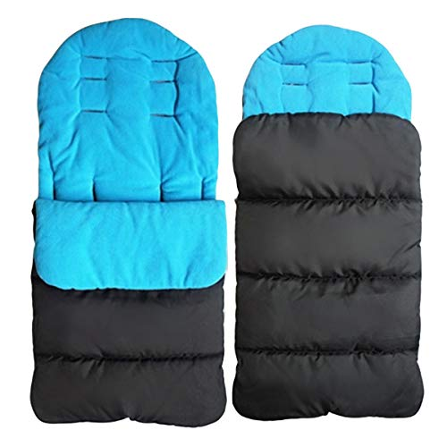 Baby Bunting Bag Universal 3-in-1 Stroller Windproof Thick Warm Sleeping Bag Toddler Footmuff for Car Seat Stroller