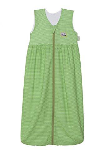 Odenwälder 1276-1974 Gr.90cm Jersey-Schlafsack Anni Streifen grün