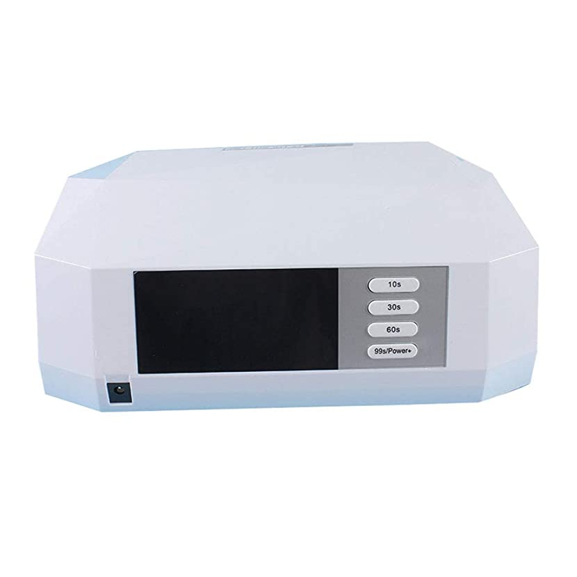 魂小道プロジェクタースマートなランプ機能、開いた設計、30s / 60sの時間設定および99s低熱のゲルのマニキュアのシェラックのための釘のドライヤー72Wの紫外線/ LEDランプ