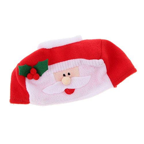 Caja De Pañuelos Novedad Navidad Cubierta Servilletero Decoración Para Hogar Papá Noel/Muñeco De Nieve - Santa...