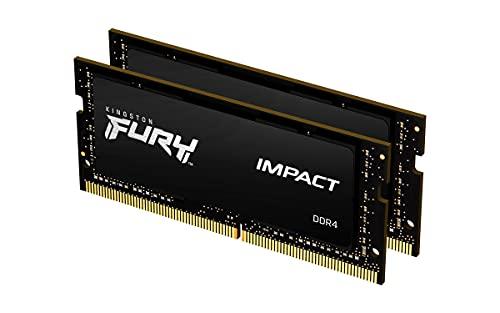 キングストン Kingston FURY ノートPC用メモリ DDR4 2666MHz 16GBx2枚 Kingston FURY Impact インパクト CL15 1.2V SODIMM KF426S15IB1K2/32