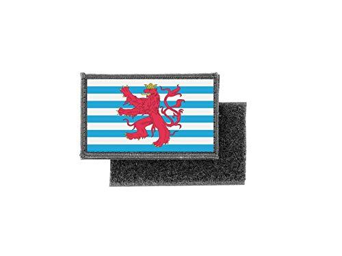 Aufnäher patch aufbügler gedruckt flagge fahne luxemburg r2