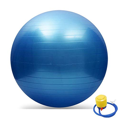 2pc Pelota Pilates 65 Cm Palestra Balance Fitness Yoga Fitness Ball Gravidanza Birthing Anti Burst Sfera for Il Corpo Coperto Fitness Ball (Color : A)