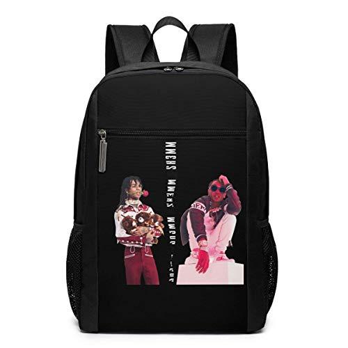 Rae Sremmurd - Mochila de viaje para escuela, mochila de viaje, mochila grande, bolsa de hombro para portátil para hombres, mujeres y niños