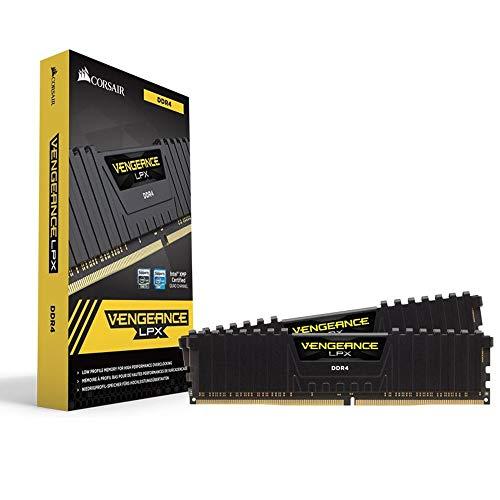 Corsair Vengeance LPX 32GB (2x16GB) DDR4 2400MHz C14 XMP 2,0 High Performance Desktop Arbeitsspeicher Kit, Schwarz
