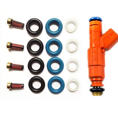 4kits Kraftstoffeinspritzdüse-Reparaturset for Ma-z-DA 6 Injector 0280156154 0586156156 for AY-RK057