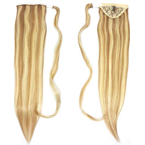 Human Hair Ponytail Extension Wrap 20