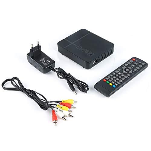 Receptor de señal de TV para DVB-T Digital Terrestre DVB T2 / H.264 para Dolby Black