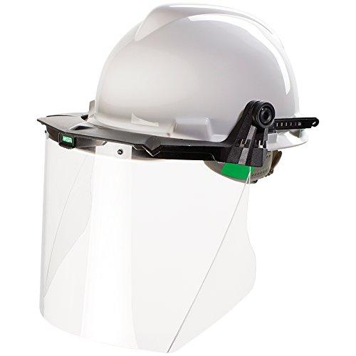 MSA Kasot-E - Casco de protección para la cara, casco industrial blanco-negro-transparente Talla única 🔥