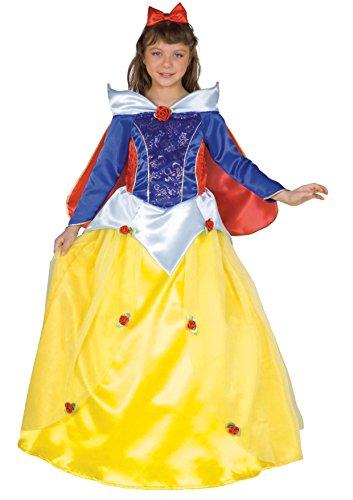 Ciao-18375.4-6 Disfraz de princesa de niña blanca nieve años, color, 4-6 anni (18375.4-6)