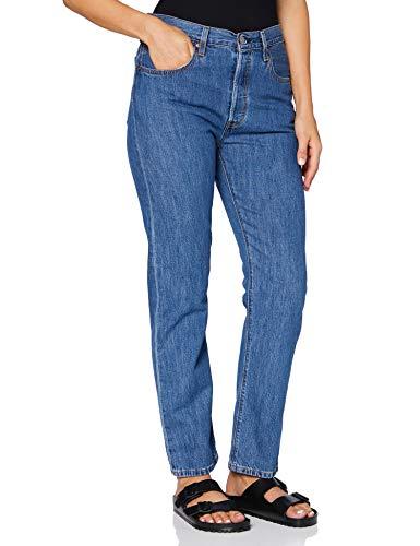 Levi's 501 Crop Jeans, Azul (Sansome Breeze Stone), 23W / 26L para Mujer