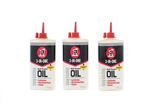 3 Pk. 3-IN-ONE 10235 Multi-Purpose Oil, 3 oz.